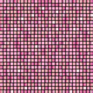 ピンク モザイク 背景のイラスト素材 [FYI03405059]