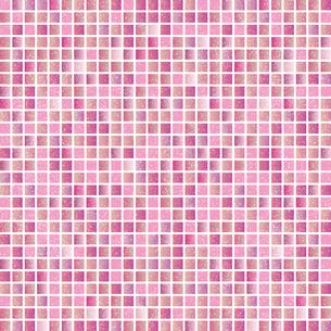 ピンク モザイク 背景のイラスト素材 [FYI03405062]