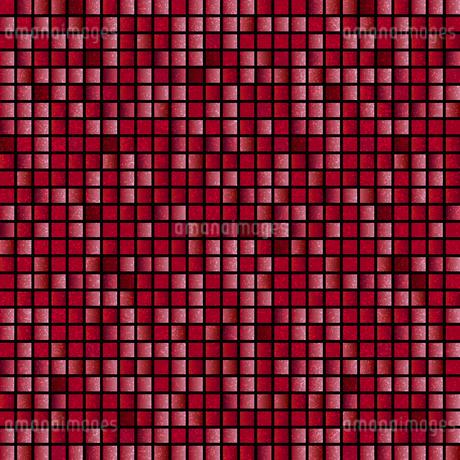赤 モザイク 背景のイラスト素材 [FYI03405064]