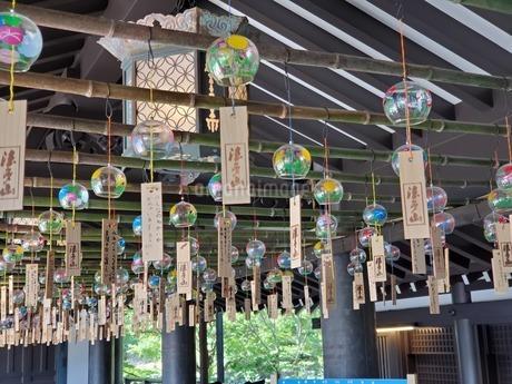 法多山の風鈴祭りの写真素材 [FYI03405069]