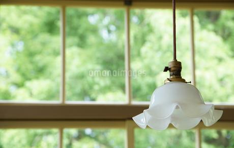 窓と照明ランプの写真素材 [FYI03405147]