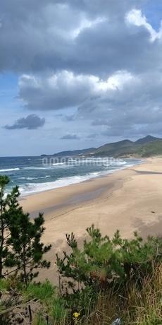 海岸線の写真素材 [FYI03405385]