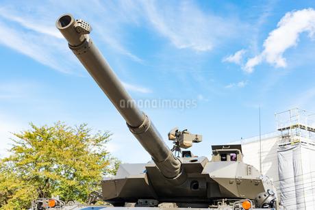 陸上自衛隊の戦車の砲塔の写真素材 [FYI03405389]