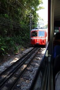 登山電車の写真素材 [FYI03405679]