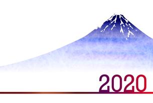 年賀状2020のイラスト素材 [FYI03405708]