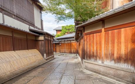 京都の石塀小路の写真素材 [FYI03406202]