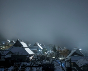 美山 かやぶきの里 日本 京都府 南丹市の写真素材 [FYI03406267]