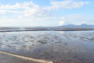 海床路の写真素材 [FYI03406353]