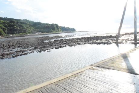 海床路の写真素材 [FYI03406354]