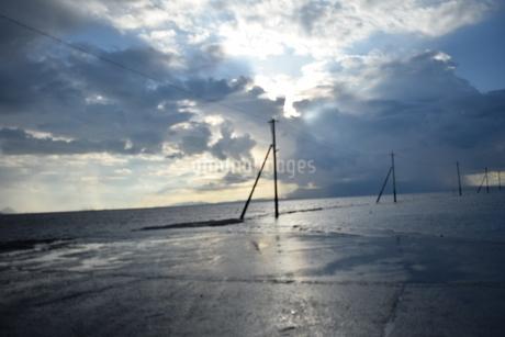 海床路の写真素材 [FYI03406355]
