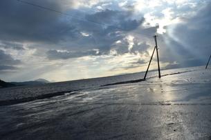 海床路の写真素材 [FYI03406359]
