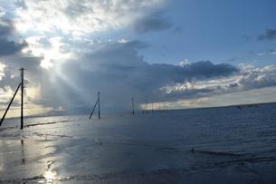海床路の写真素材 [FYI03406360]