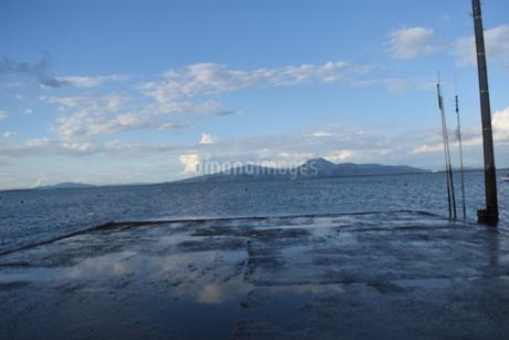 海床路の写真素材 [FYI03406361]
