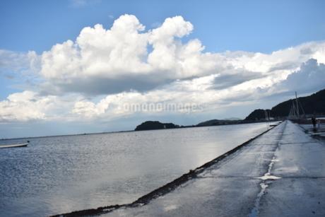 海床路の写真素材 [FYI03406362]