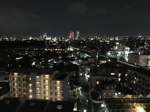 都心の夜景の写真素材 [FYI03406568]
