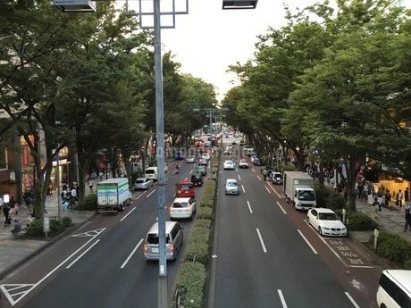 大通りの写真素材 [FYI03406573]