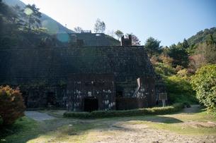 東平 東洋のマチュピチュ 別子銅山跡 近代化産業遺産の写真素材 [FYI03406785]