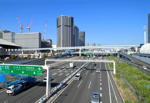 首都高速道路湾岸線の写真素材 [FYI03406797]