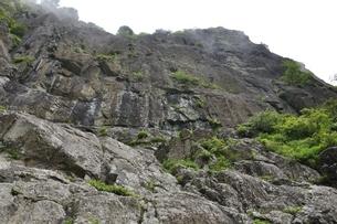 開運山 屏風岩の絶壁の写真素材 [FYI03406996]