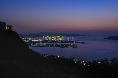 屋島山上からの眺め 日本 香川県 高松市の写真素材 [FYI03407326]