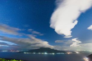 寺山公園展望台からの眺め 日本 鹿児島県 鹿児島市の写真素材 [FYI03407330]