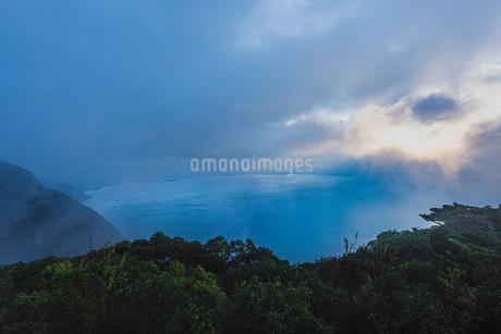 寺山公園展望台からの眺め 日本 鹿児島県 鹿児島市の写真素材 [FYI03407331]