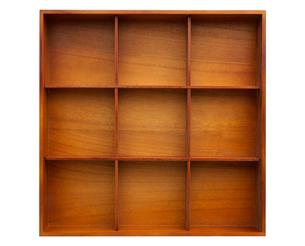 木製の小さな棚の写真素材 [FYI03407350]