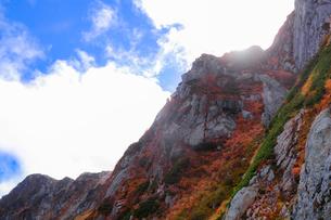 宝剣岳 日本 長野県 上松町の写真素材 [FYI03407398]
