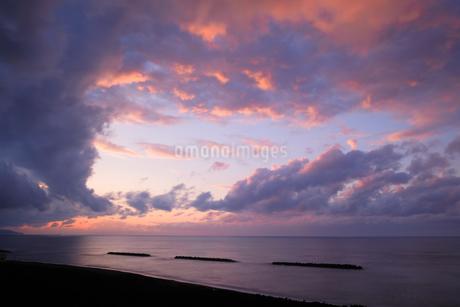 鵜の浜海岸 日本 新潟県 上越市の写真素材 [FYI03407431]