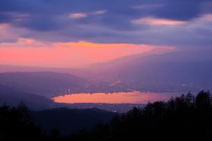 高ボッチ山 日本 長野県 岡谷市の写真素材 [FYI03407432]
