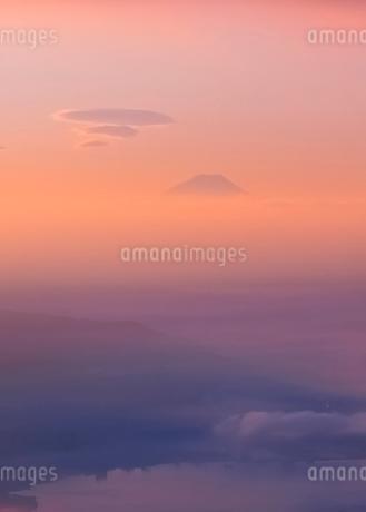 高ボッチ山からの眺めの写真素材 [FYI03407436]