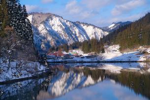 会津中川駅 日本 福島県 金山町の写真素材 [FYI03407491]