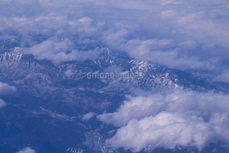 東北上空 日本 岩手県 花巻市の写真素材 [FYI03407496]