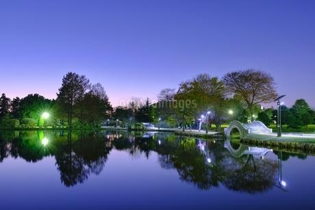 忍城 水城公園 日本 埼玉県 行田市の写真素材 [FYI03407529]