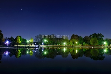 忍城 水城公園 日本 埼玉県 行田市の写真素材 [FYI03407530]
