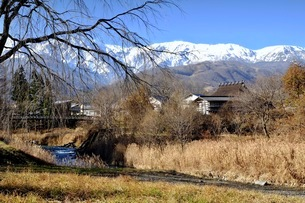 大出公園 日本 長野県 白馬村の写真素材 [FYI03407549]