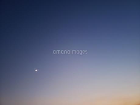夜空の月よの写真素材 [FYI03407806]