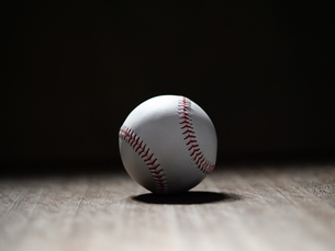 野球のボールの写真素材 [FYI03408113]