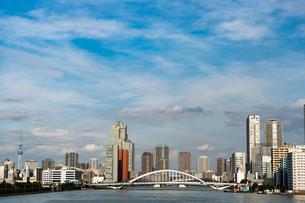 芝浦から見た景色の写真素材 [FYI03408159]