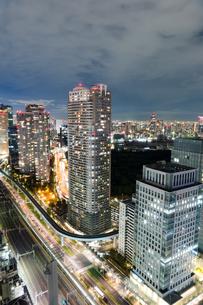 東京の夜景の写真素材 [FYI03408173]