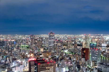 浜松町から見た夜景の写真素材 [FYI03408175]