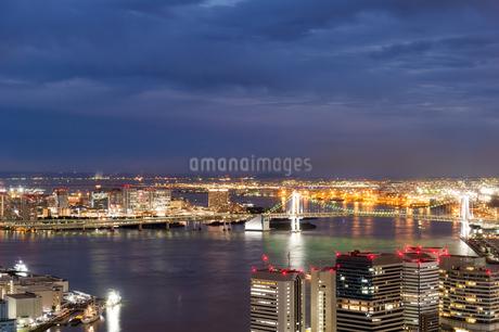 東京の夜景の写真素材 [FYI03408176]