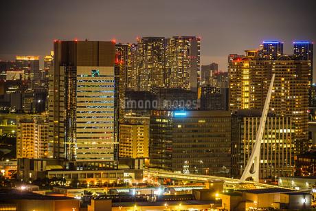 東京・お台場から見える東京の夜景の写真素材 [FYI03408416]