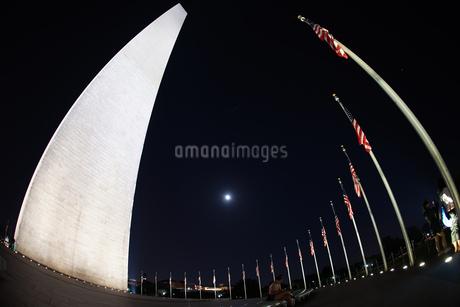 ワシントン記念塔のイメージの写真素材 [FYI03408501]