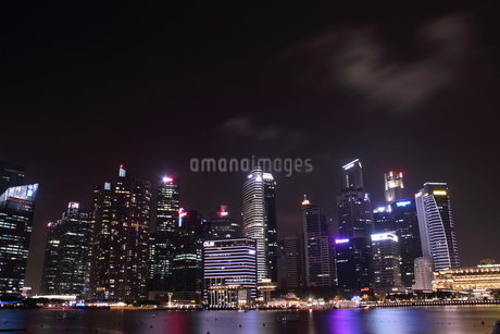 Singapore nightの写真素材 [FYI03408527]