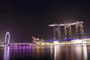 Singapore nightの写真素材 [FYI03408528]