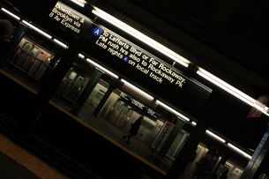 At the MTA stationの写真素材 [FYI03408534]