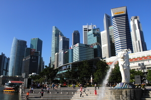 The great Singapore morningの写真素材 [FYI03408554]