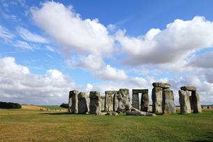 The Stone hengeの写真素材 [FYI03408558]