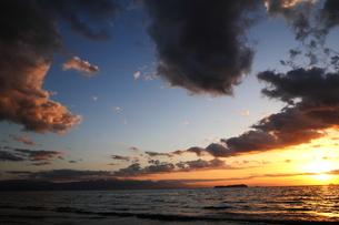 The beautiful sunsetの写真素材 [FYI03408568]